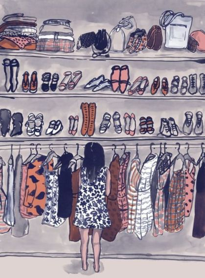 closet ilustracao